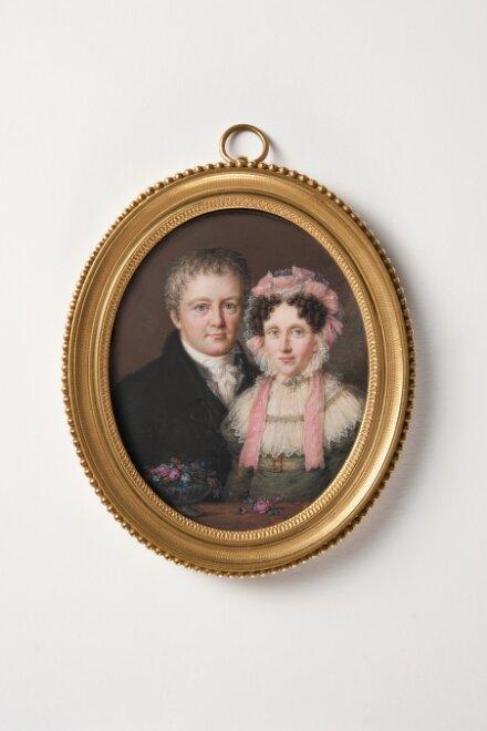 Hermann Wilhelm Baudissin, greve och hans hustru Augusta Andrea von Witzleben af Hude